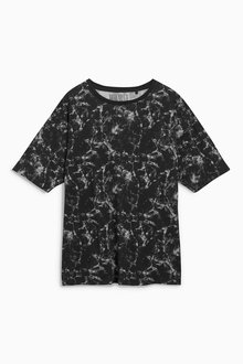 Next Marble Oversized T-Shirt (12-16yrs)