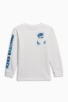 Next Monster Crew Long Sleeve Top (3-16yrs)