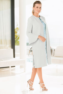 Together Flute Sleeve Coat
