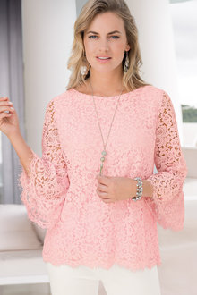 Together Lace Shell Top