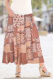 Together Printed Skirt