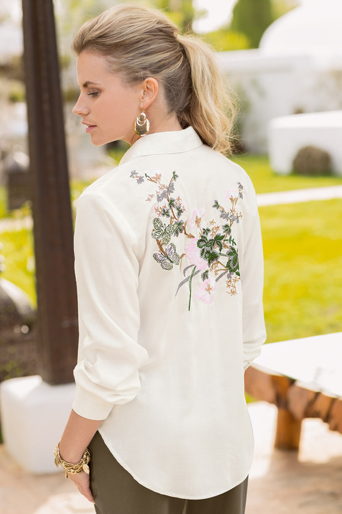 Together Embroidered Shirt
