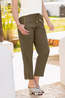 Together Zip Pocket Trouser - 193302