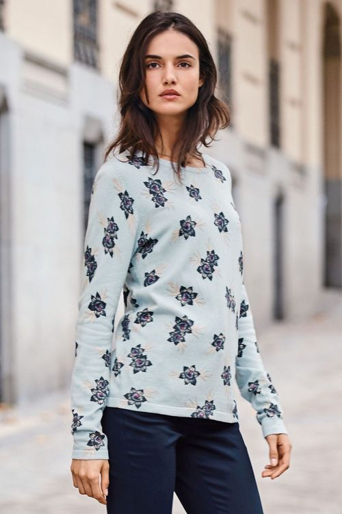 Next Printed Sweater