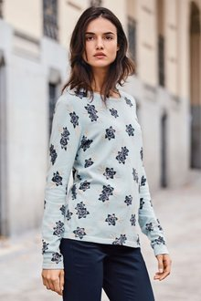 Next Printed Sweater