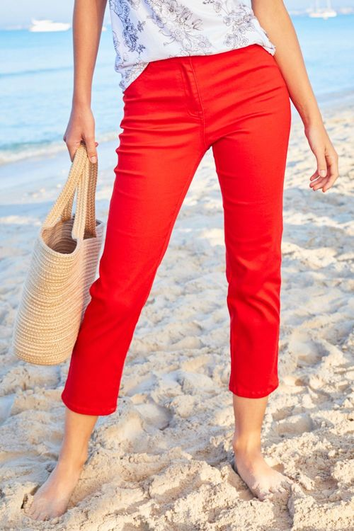 Next Parallel Cropped Jeans