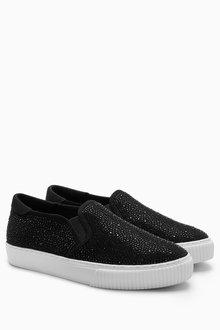 Next Shimmer Skater Shoes