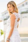 Together Lace Back Detail Top