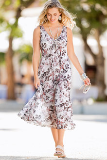 Together Floral Print Dress - 193868
