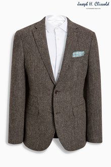 Next Clissold Textured Wool Jacket - Slim Fit