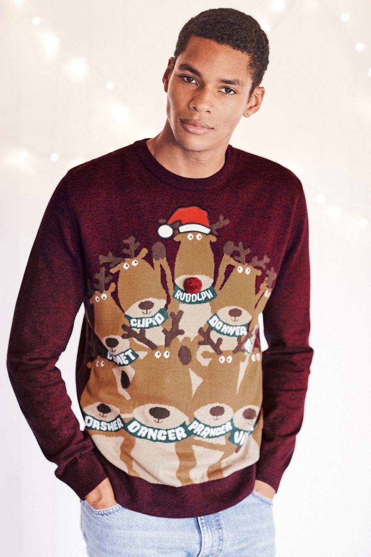 Next Christmas Jumpers.Next Reindeer Christmas Jumper Online Shop Ezibuy