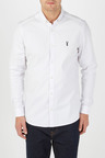 Next Long Sleeve Stretch Oxford Shirt