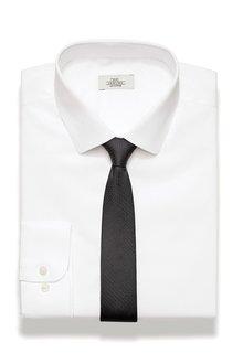 Next Textured Shirt And Tie Set - Slim Fit Single Cuff