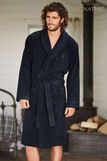 Next Signature Towelling Robe