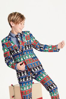 Next Christmas Suit Jacket (3-16yrs)