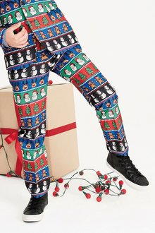 Next Christmas Trousers (3-16yrs)