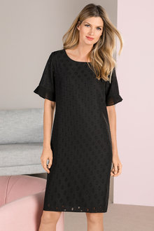 Grace Hill Burnout Shift Dress