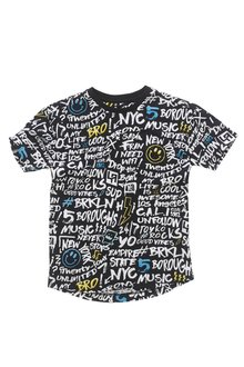 Next Graffiti All-Over-Print T-Shirt (3-16yrs)