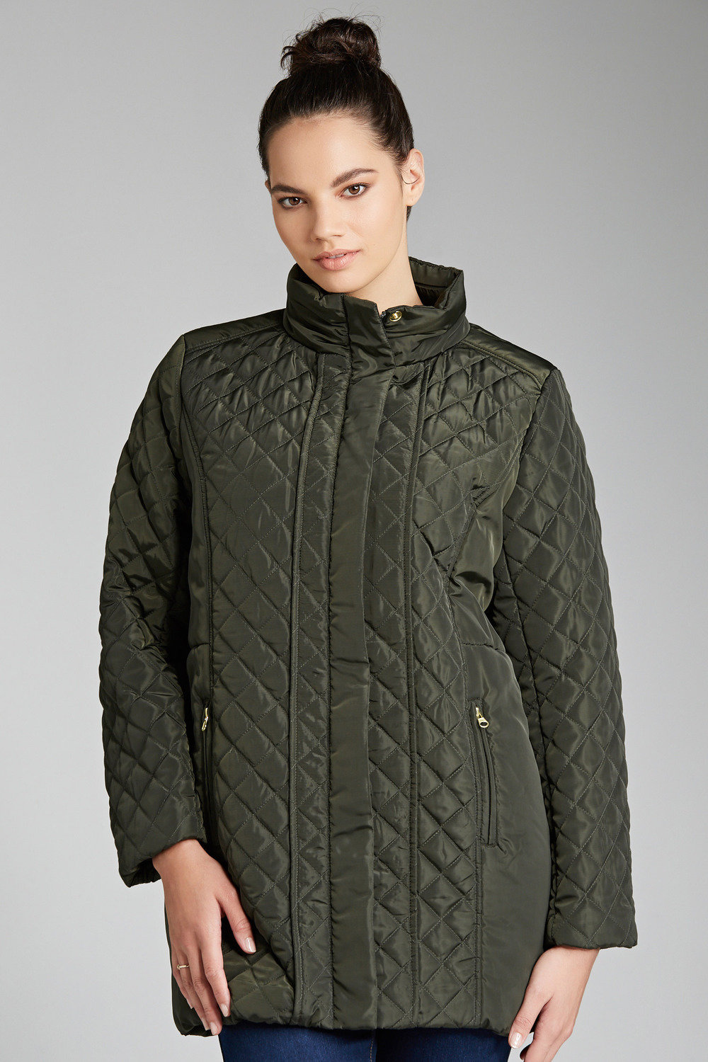 d3d1e0b4f45 Plus Size - Sara Quilted Jacket