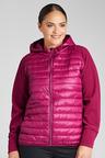Plus Size - Sara Fleece Puffer Jacket