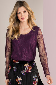 Grace Hill Lace Top