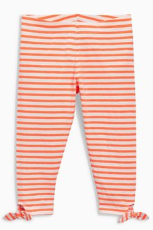 Next Stripe Tie Side Leggings (3-16yrs)