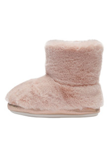 Next Faux Fur Slipper Boots (Younger Girls)