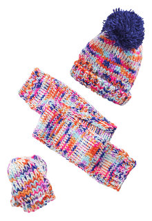 Next Hat, Scarf And Mitts Set (Younger Girls)