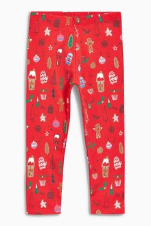 Next Christmas Leggings (3mths-6yrs)