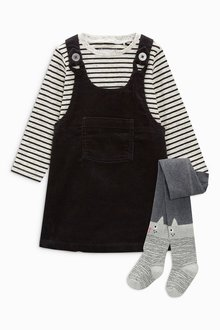 Next Pinafore Set With Character Tights (3mths-6yrs)