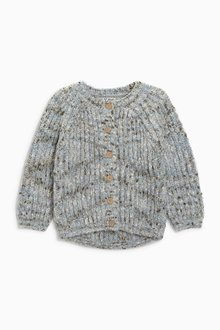 Next Chunky Mix Yarn Cardigan (3mths-6yrs)