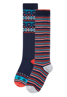 Next Patterned Welly Socks Two Pack (Younger Boys)