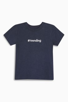 Next Trending Short Sleeve T-Shirt (3mths-6yrs)