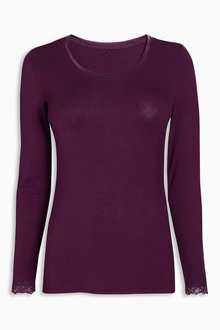 Next Lightweight Truetherm Microwarmth Scoop Neck Top