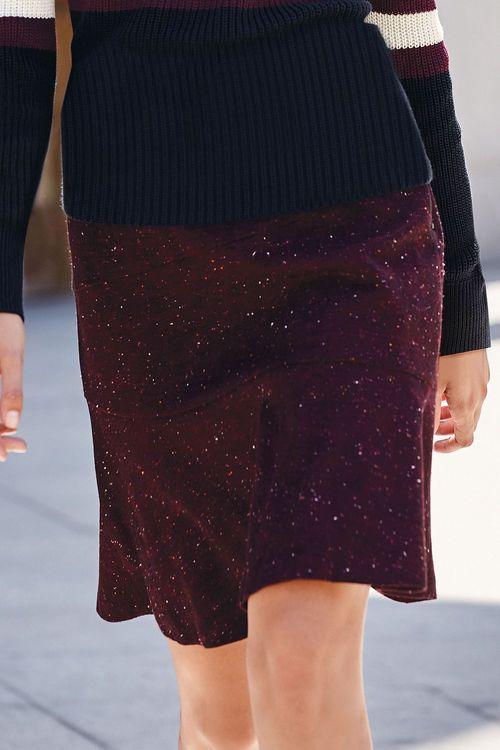 Next Flippy Hem Skirt