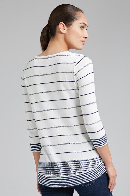 Together Stripe Sweater