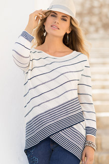 Together Stripe Sweater - 194624