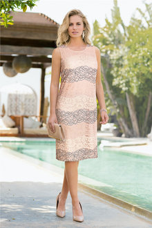 Together Tonal Lace Dress