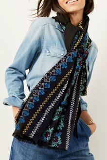 Next Embroidered Scarf - 194735