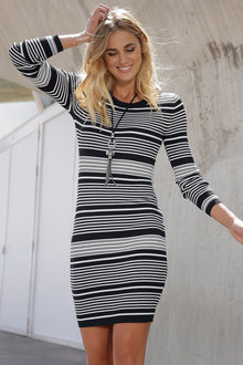Urban Stripe Dress - 194833
