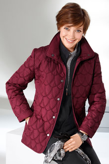 Capture European Quilted Jacket