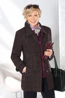 Capture European Tweed Coat
