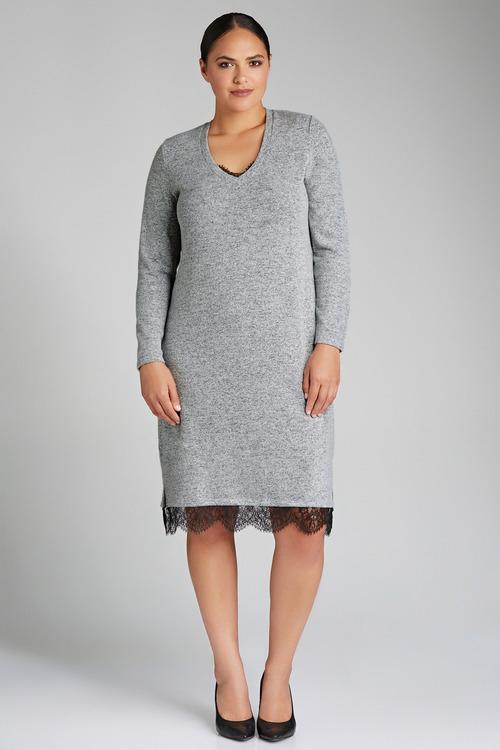 Plus Size - Sara Soft Knit Dress