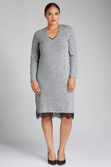 Plus Size - Sara Soft Knit Dress
