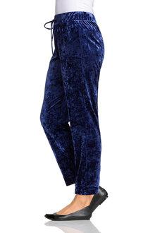 Plus Size - Sara Velvet Stretch Jogger