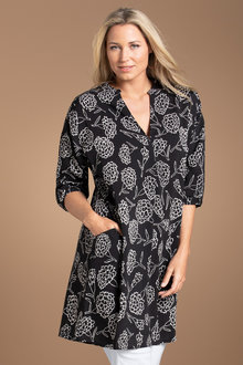 Plus Size - Monochrome tunic