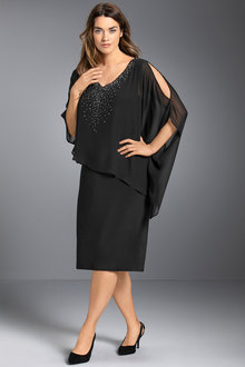 Plus Size - Sara Overlay Dress