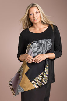 Plus Size - Sara Asymmetric Tunic