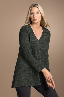 Plus Size - Sara Soft Knit Tunic