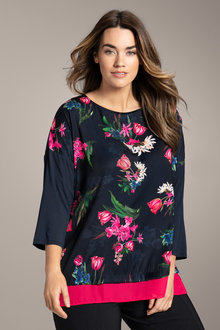 Plus Size - Shell Top